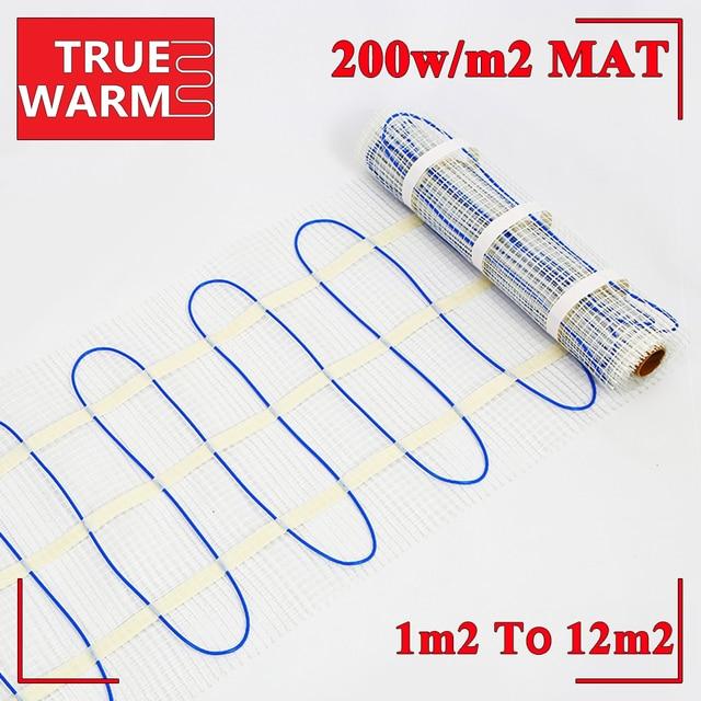 200 W/sqm Elektrische Vloerverwarming Mat Voor Woonkamer Groothandel ...