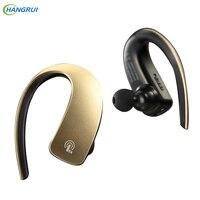 HANGRUI Q2 Ear Hook Wireless Headphones Bluetooth Earphone Unilateral Handsfree Wireless Headphones For Iphone 7 Xiaomi