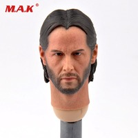 1/6 Keanu Reeves Man Head Toy The Killer John Wick Head Sculpt F 12'' HT Body