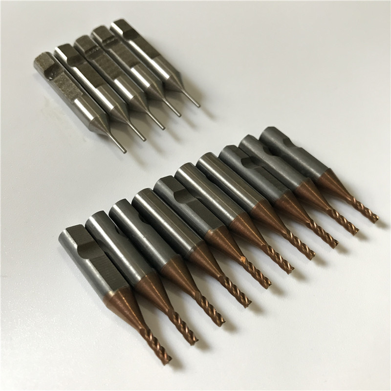 2 0mm carbide cutter 6mmX2 0mm and 1 0mm tracer point 6mmX1 0mm for automatical V8