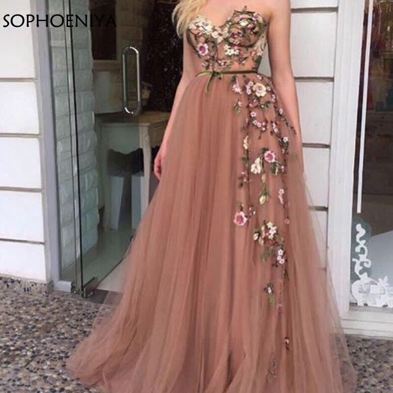 New Arrival Pink Long   evening     dress   2019 Lace Appliques Dubai Arabic   Evening     dresses   Ever pretty Party gown vestido longo festa