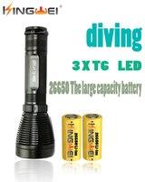 10Pcs Lot Led Flash Light Cree XM L T6 2500 Lumens Lanterna Tatica Light Levou Torch