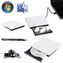 Тонкий внешний USB3.0 записываемый DVD-ROM CD-RW DVD-RW горелки для портативных ПК