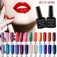 MDSKL 132 Colors New Style 1pcs Nail Gel Polish Soak Off Gel 10ml Long Lasting UV Gel Colorful Polishes Art