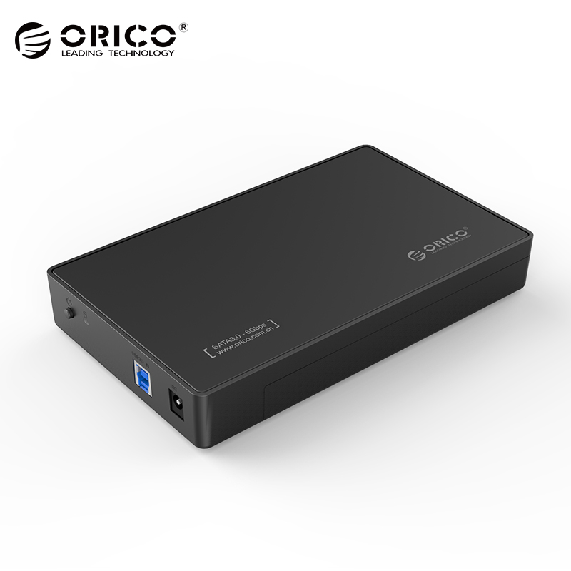 ORICO HDD Case 3.5 inch Tool Free SATA to USB 3.0 SSD Adapter Hard Drive Case External HDD Enclosure for 2.5 3.5 inch HDD SSD корпус для hdd orico 9528u3 2 3 5 ii iii hdd hd 20 usb3 0 5