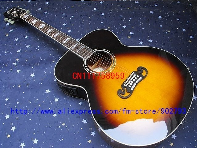Free Shipping Hot selling!! 100% New Arrlval Best Selling Style Music Electric Guitar and box