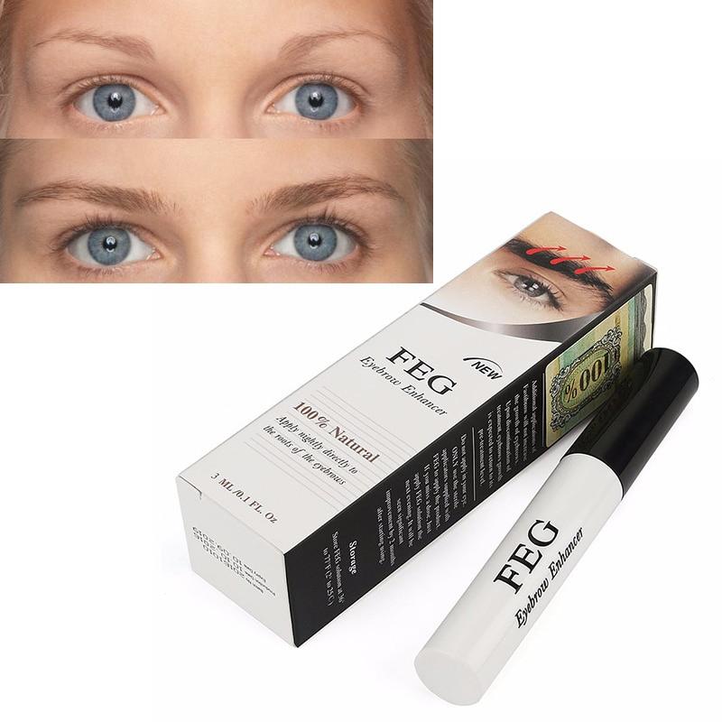 53f5edceef9 FEG Eyebrows Eyelash Enhancer Growth Liquid Original Rising Eyebrow Growth  Serum Long Thicker Cosmetics Set Makeup