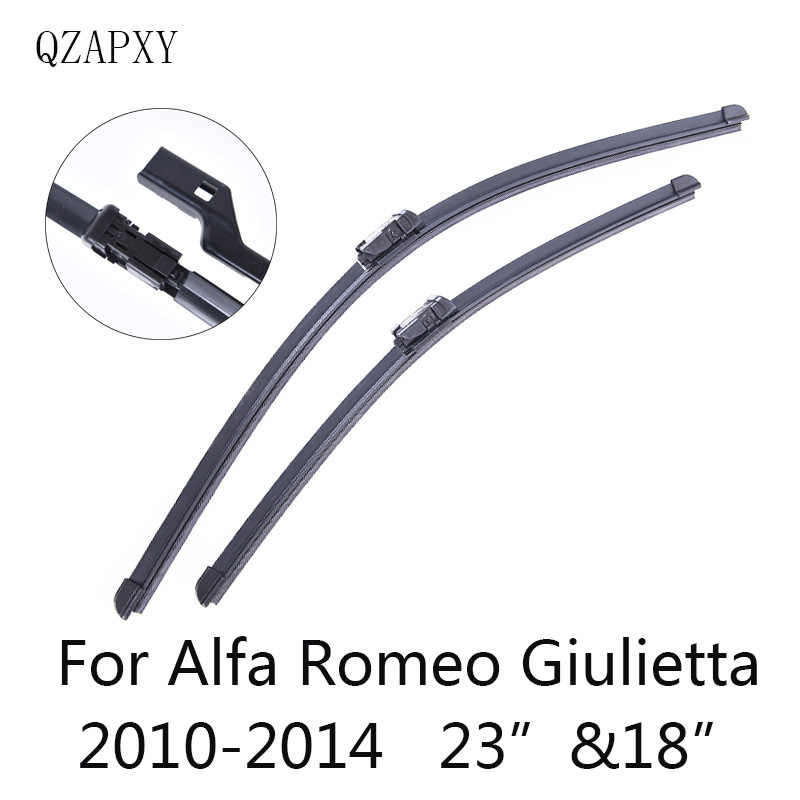 Front and Rear Wiper Blades for Alfa Romeo Giulietta 940