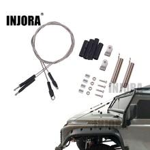 INJORA RC автомобиль Модифицированная часть стальной канат для 1/10 RC Гусеничный Traxxas TRX-4 TRX4 осевой SCX10 90046 D90 D110 Tamiya Mst