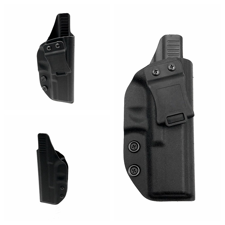 Tactical Pistol Beltclip Concealed Kydex IWB Holster Custom Molded For Glock 17/22/31 Inside The Waistband Glock Holster For G17