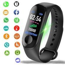 Мужские и женские умные часы спортивные фитнес-часы цветной экран водонепроницаемый монитор кровяного давления мониторинг сердечного ритма для IOS Android
