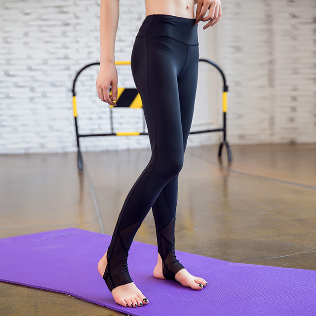2017 Brand New Women Sexy Yoga Pants Dry Fit Sport Pants Fitness Gym Pants Workout Running Tight Sport Leggings Female Trousers