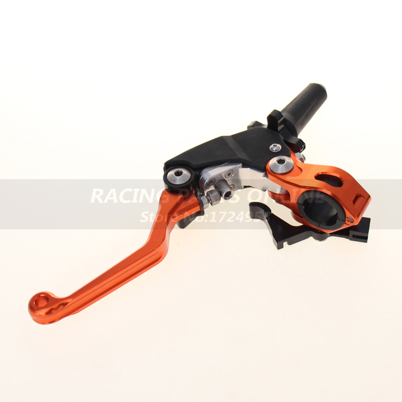 Orange Foldable Clutch Lever Perch For KTM EXC EXCR XCW XCRW XC SX SXR SXF XCF 250 300 350 400 450 500 505 525 530 держатели в авто dotfes держатель в авто
