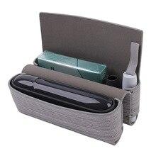 حقيبة تخزين من القماش لملحقات السجائر الإلكترونية IQOS حقيبة حمل لغطاء حماية IQOS 3.0