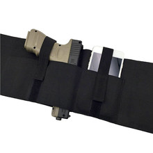 Versatile Belly Band Holster Concealed Carry with Magazine Pocket/Pouch & 2 Elastic Straps for Women Men Fits Glock, Ruger LCP(China)