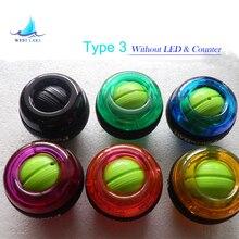 Probado! tipo-3 Giroscopio PowerBall Ejercicio Fortalecedor Power Ball Gyro Brazo de la Muñeca Fuerza de La Bola