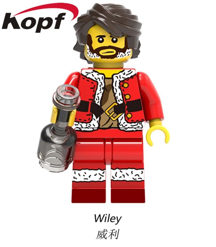 X0154 super heroes merry christmas boy joker wiley jango fett jack ...