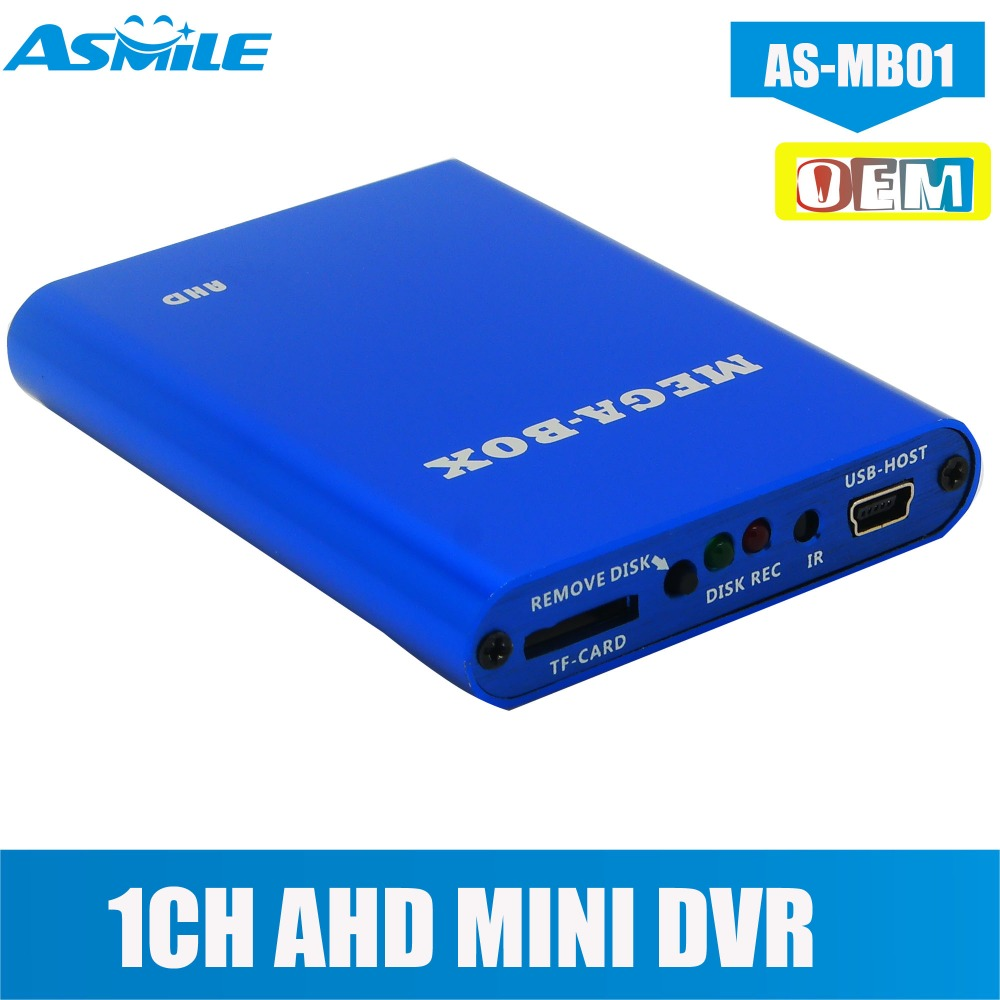 Mini registratore DVR AHD Super HD 720P con sistema dome kamepa da 1,3 MP