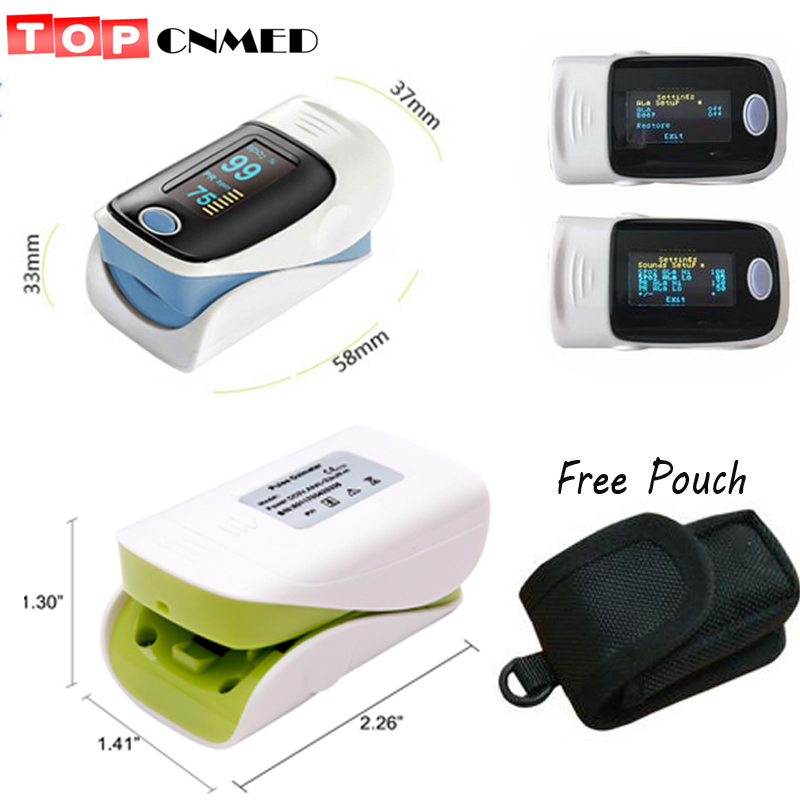 Beautiful 10 Pieces/lot Protect Bag~~oled Finger Pulse Oximeter Blood Oxygen Spo2 Saturation Oximeter Pulso Dedo Oxigeno Pulsioximetro Delicacies Loved By All Grooming & Healthcare Kits