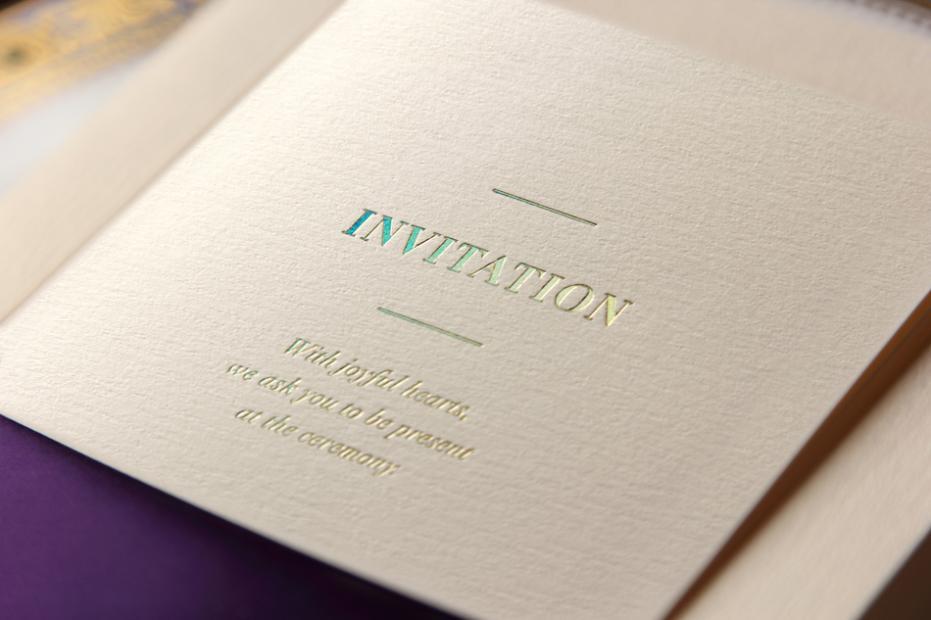 purple ribbon invitation cards 2013 new invitations wedding