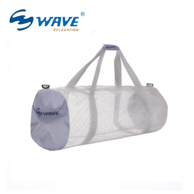 GELOMBANG tas penyimpanan Pantai peralatan renang pria dan wanita tas travel khusus kapasitas besar tas portabel