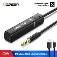 Ugreen Bluetooth Transmitter 4.2 for TV Headphones PC APTX 3.5mm Aux Bluetooth Adapter Optical Audio Music Bluetooth Transmitter