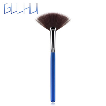 New 2019 Women's Fashion Fan Shape Beauty Cosmetic Brush Blending Highlighter Contour Face Powder Makeup Maquiagem Drop Shipping Eye Shadow Applicator