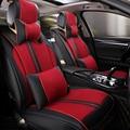 (Delantero y Trasero) Cuero del asiento de coche especial cubre Para Citroen C4 C3-XR Cactus C2 C3 Aircross SUV coche accesorios car styling
