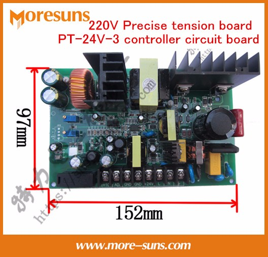 Fast Free Ship 220V Precise magnetic powder tension board PT-24V-3 controller circuit board for wire&cable tension plate fast free ship 16m flash csr8670 development board debug board demo board emulation board adk3 5 1 adk3 0 i2s spdif