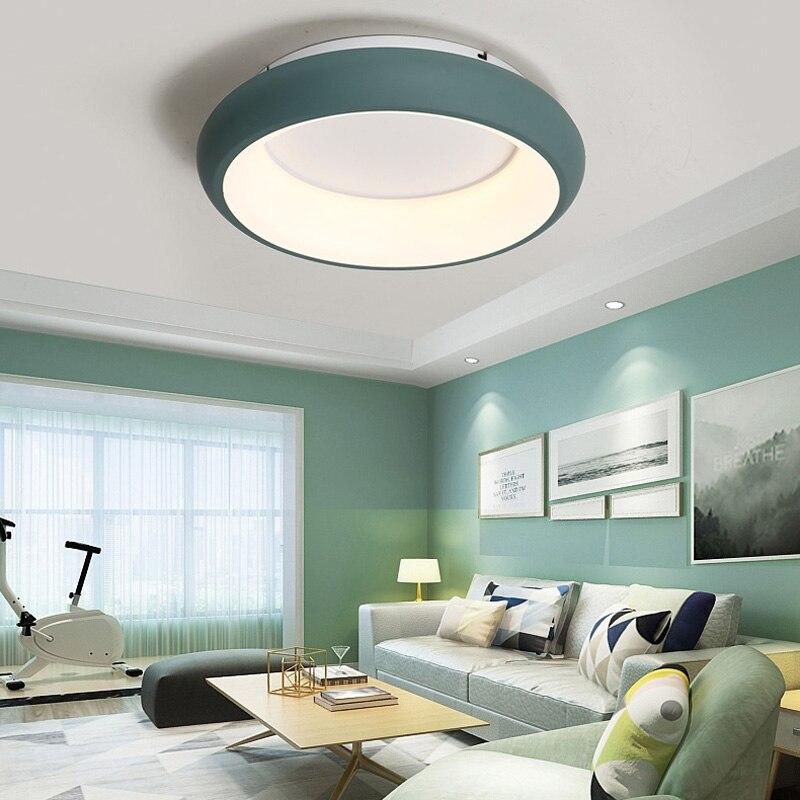 2019 Simples moderno da lâmpada do teto para sala de estar flor LEVOU lamparas de techo criativa iluminação de teto de acrílico