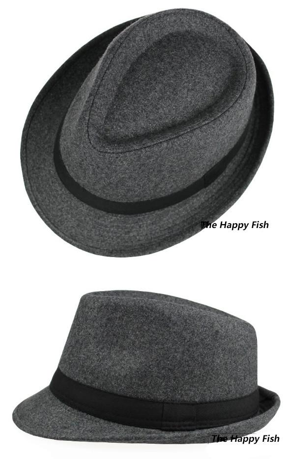 Original Unisex Structured Wool Fedora Hat Fedora hats for men fedora felt hat (11)