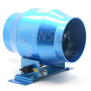 Image 3 - 新しい抽出可変速制御排気ファン換気のため気流昇圧庭農地窓 Fan4/6 インチ