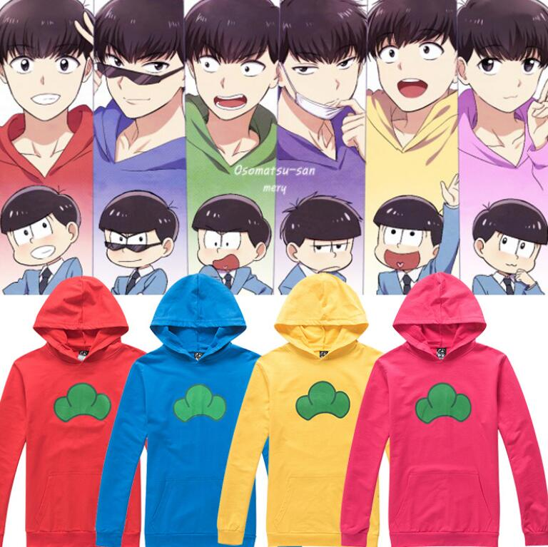 Anime Osomatsu-san Cos Karamatsu Tees Osomatsu San Hoodie Jackets Men Women Halloween Cosplay Costume