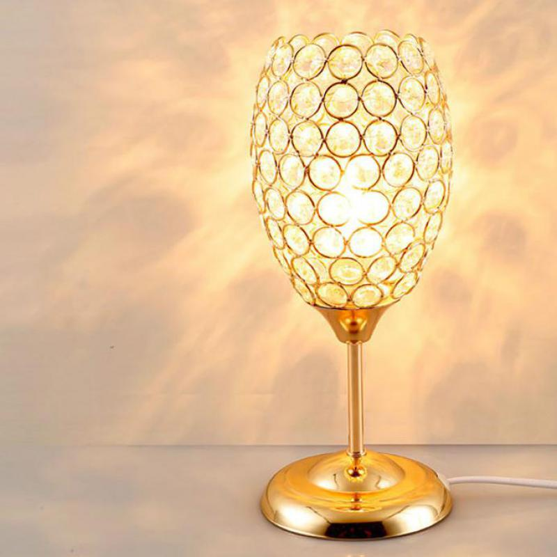 Manufacturers Direct Selling Creative Individual Crystal Table Lamp Modern Simple Bedroom Bedside Crystal Moderne Desk LampManufacturers Direct Selling Creative Individual Crystal Table Lamp Modern Simple Bedroom Bedside Crystal Moderne Desk Lamp