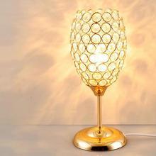 Manufacturers Direct Selling Creative Individual Crystal Table Lamp Modern Simple Bedroom Bedside Moderne Desk