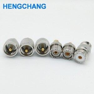 Image 5 - SL16 M type UHF to SMA PL259 to BNC SO239 to SMA RF connectors adapter 6pcs/lot
