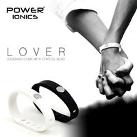 Power Ionics CRYSTAL LOVER IDEA BAND 4in1 Multifunction Titanium Ge F I R Tourmaine 3000ions Cc