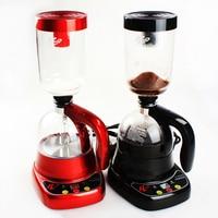 Small Size Siphon Coffee Maker Machine Electric Tea Coffee Siphon Pot Vacuum Making Glass Type Tea Boil Machine Filter Pot Set