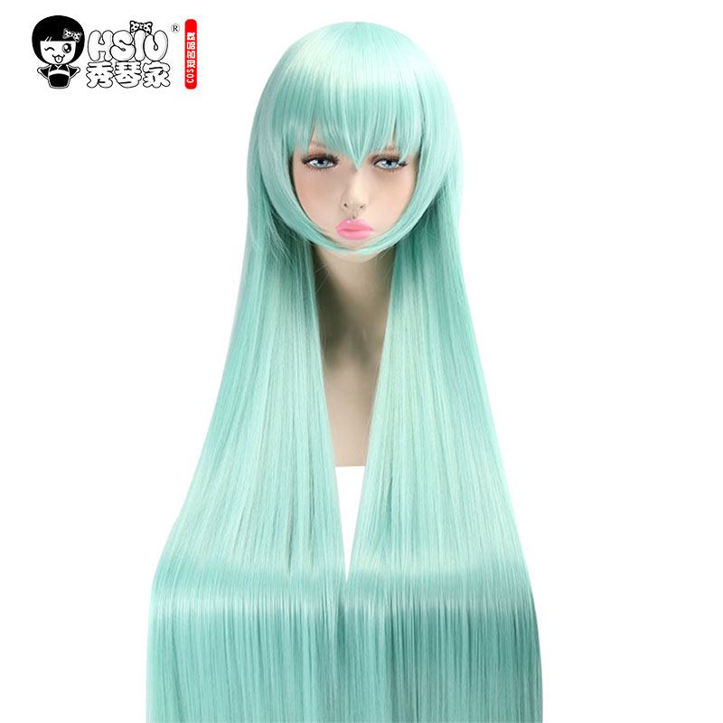 HSIU High Quality Anime Game Kiyohime Fate/Grand Order Cosplay Wig Costume Play Woman Adult Wigs Halloween Hair