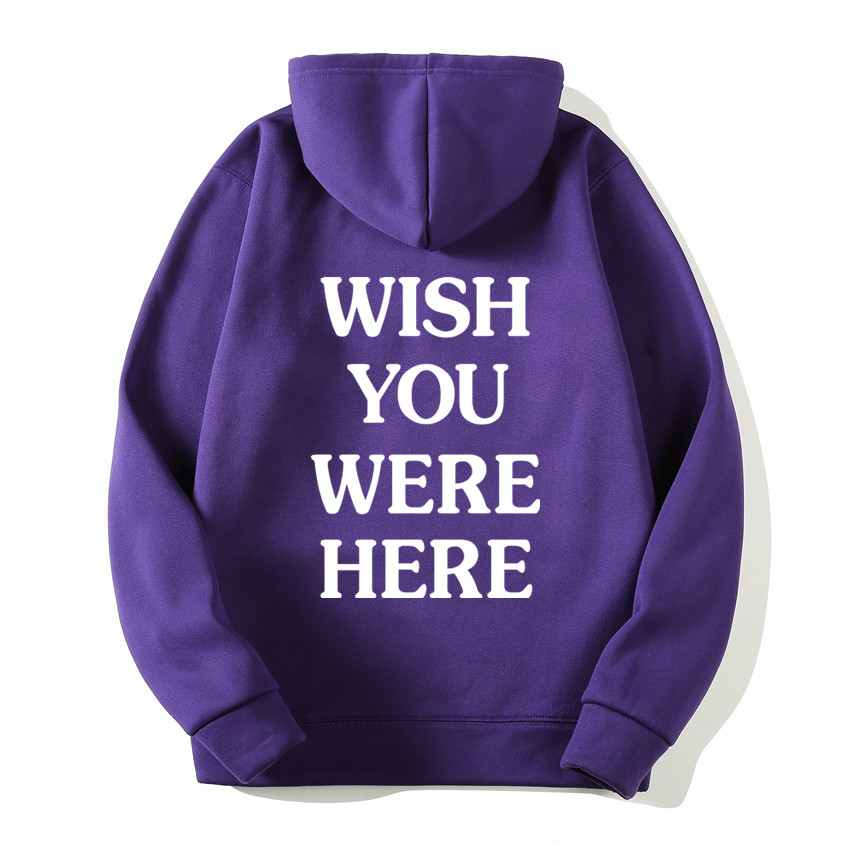 TRAVIS SCOTT ASTROWORLD WISH YOU WERE HERE HOODIES fashion letter ASTROWORLD HOODIE streetwear Man woman Pullover Sweatshirt 9