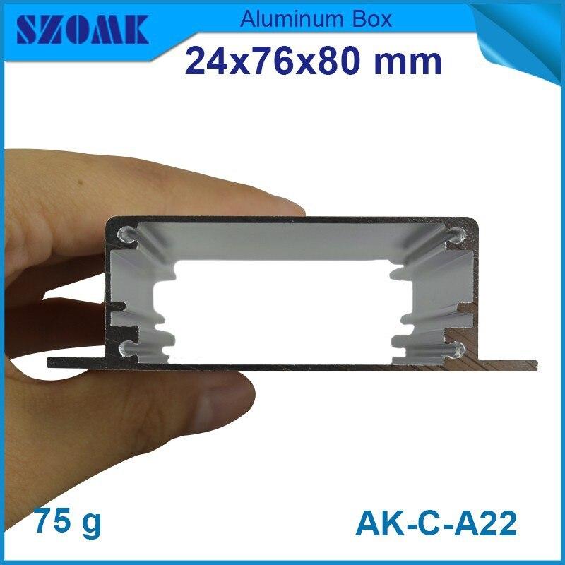 ٩(^‿^)۶10 unids/lote armario eléctrico proyecto carcasa de aluminio ...