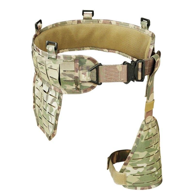 1000D Nylon multi-fonctionnel ceinture tactique armée Ultra-large tactique libération rapide ceinture respirante réglable doux rembourré ceinture