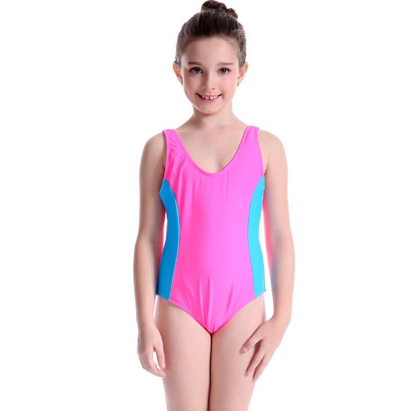 Girls Swimming Costume Swimsuit Swimwear One Thenipslip 1