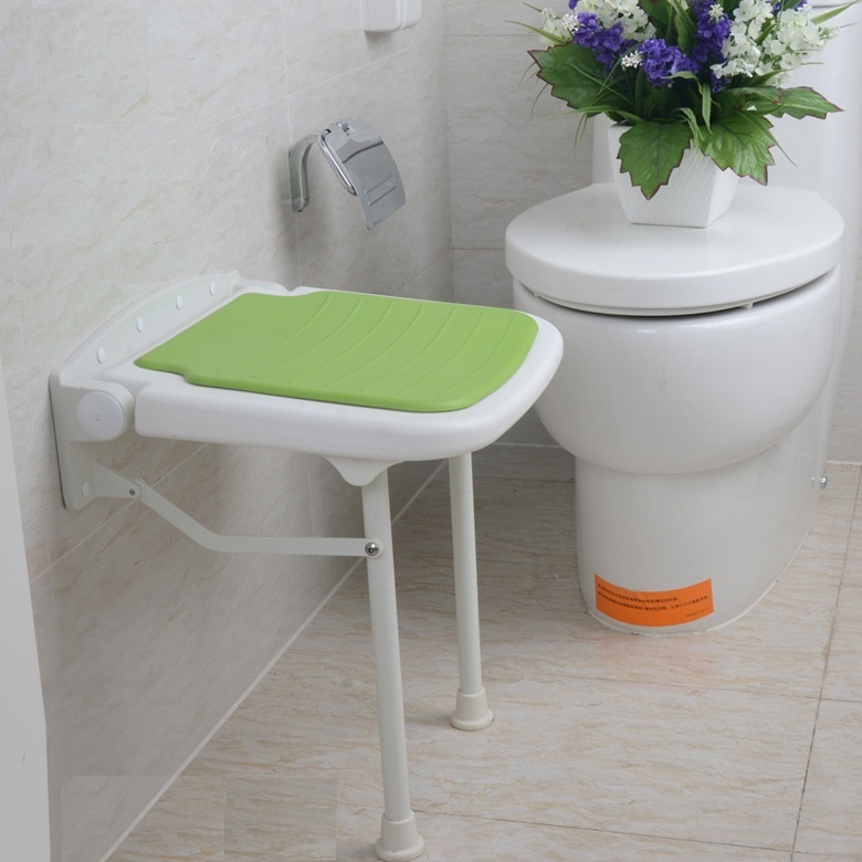 home furniture folding stool children seat change shoes chair free shipping hotel wall stool bathroom folding seat shower stool shower wall chair stool old people anti skid toilet stool bath wall chair