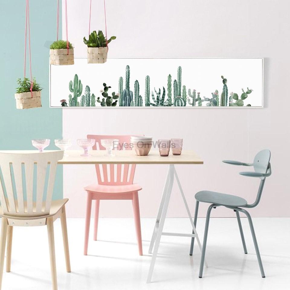 Keine Rahmen Grün Pflanze Kaktus Poster Nordic Kunst Druck Skandinavischen  Leinwand Malerei Wand Bild Für Schlafzimmer
