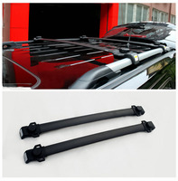 Aluminium Alloy Roof Rack Side Rails Bar Outdoor Travel Luggage Cover Car Styling For Jeep Patriot