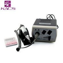 Kads 30000 об./мин. черный нейл-арта ногтей оборудование для маникюра Outils педикюра акриловые Серый Электрические Décoration d'ongles дрель Pen машина набор