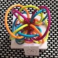 Manhattan Winkel juguete del bebé recién nacido de silicona dientes mordedor bola mágica actividad juguetes seguros 6-24 meses