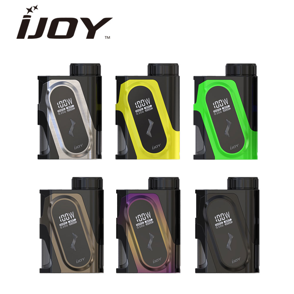 Original IJOY CAPO 100W 20700 Squonker MOD No 20700 Battery E cigarette Squonk Box Mod 100W CAPO Squonker MOD e-cigarettes mod цена