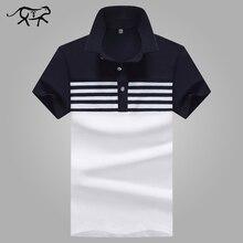 New 2018 Brand POLO Shirt Men Cotton Fashion Patchwork Camisa Polo Men Summer Short-sleeve Casual Lapel Men's Shirts jerseys 4XL